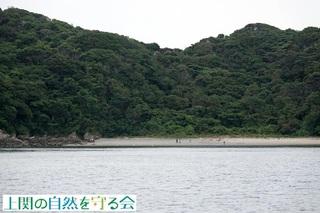 浜遊びを楽しむ家族連れ210808.jpg